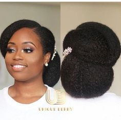 Modele coiffure mariage cheveux afro