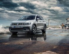 VW Tiguan Allspace Campagin on Behance Automotive Photography, Advertising Photography, Vw Tiguan, Volkswagen Models, New R, Compact Suv, Auto News, Vw Cars, Digital Photography