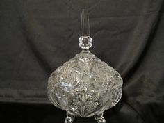 A personal favorite from my Etsy shop https://www.etsy.com/listing/266546361/gorgeous-footed-cut-crystal-candy-dish