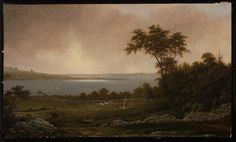 Rhode Island Landscape - Martin Johnson Heade