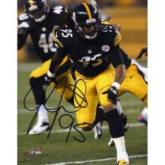 8905e2ae76b Jarvis Jones Pittsburgh Steelers Fanatics Authentic Autographed 8
