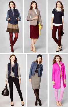 Top right corner: burgundy pants, black sweater with button up, sparkles. Casual Work Outfits, New Outfits, Stylish Outfits, Winter Outfits, Fashion Outfits, Timeless Fashion, Love Fashion, J Crew Style, My Style