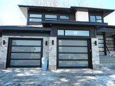 Portes de garage en acier hors standard - Portes Bourassa