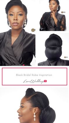 From the to the and the there's so much we love about this look Bride Pictures, Bridal Robes, Bridal Makeup, Nude, Hair, Inspiration, Black, Biblical Inspiration, Bridal Pictures