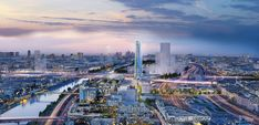 SOM's net-zero Paris skyscraper will be one of the most sustainable buildings in Europe