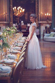 Elegant Vintage Wedding Inspiration
