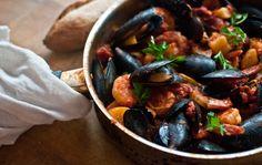 croatian brudet: Traditional Seafood Stew #croatian #food #recipes www.casademar.com