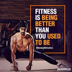 Some #MondayMotivation from #BigMusclesNutrition that will help you start the #week on a good note!