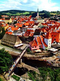 Wonderful Cesky Krumlov http://www.travelandtransitions.com/european-travel/