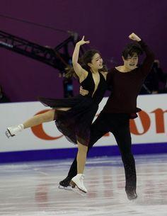 Maia & Alex Shibutani at the 2015 Grand Prix Final in Barcelona