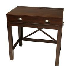 Amherst Fliptop Laptop Desk by Jerome's Furniture, SKU TWS90OF49 || definitely don't want a giant flashy desk