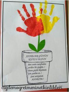 Ben Annemin çiçeğiyim..! 🌹 - Okul Öncesi Etkinlik Kaynağınız - Okul Öncesi Etkinlik Kaynağınız