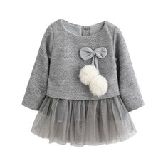 Baby Dress Spring Autumn Baby Warm Clothes New Winter Long-Sleeve Princess Dress Kids Clothes Baby Girl Princess Dress Princess Dress Kids, Baby Girl Princess, Princess Dresses, Crochet Princess, Princess Party, Fashion Kids, Fashion Clothes, Fashion Dresses, Jeans Fashion