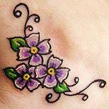 Violets design