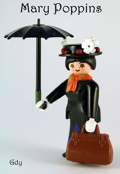 Playmobil Mary Poppins (Need this! I guess I need to make it for myself)
