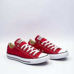 980a1825b97242 Converse Chuck Taylor All Star Ox κόκκινα σταράκια
