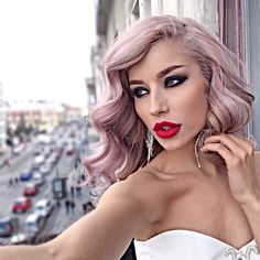 ALINA CEUSAN @alinaceusan Instagram profile - Enjoygram Blonde Hair Makeup, Bright Hair Colors, Makeup For Blondes, Models, Stylish Hair, Blow Dry, Hair Tools, Beauty Queens, Cut And Color