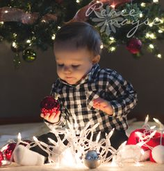 Baby/Christmas Picture