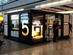 Chanel pop-up in Heathrow T5, London. We love shops and shopping - seanmurrayuk.com, https://www.facebook.com/Shoppedinternational