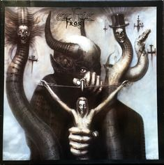 A great HR Giger art poster! Satan I was used as the album cover for the 1985 Celtic Frost LP To Mega Therion. Check out the rest of our excellent selection of HR Giger posters! Chur, Hr Giger Art, Hr Giger Alien, Pagan Metal, Celtic Frost, Cover Art, Gravure Photo, Art Noir, Kunst Poster