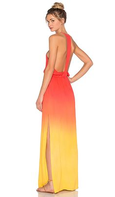 Shop for Young, Fabulous & Broke Nala Maxi Dress in Sun Ombre at REVOLVE. Free 2-3 day shipping and returns, 30 day price match guarantee.