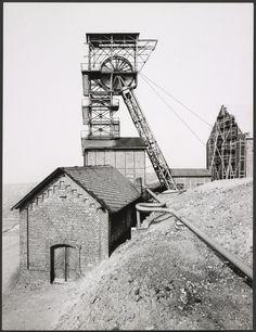 San Fernando Mine, Herdorf, Siegerland, Germany (1961). Bernd y Hilla Becher
