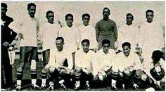 EQUIPOS DE FÚTBOL: CHILE Selección contra Francia 1930
