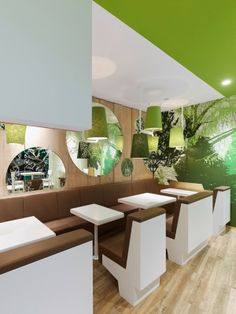 Modern Green Fast Food Restaurant Design Ideas Wienerwald Restaurant Luxury Table and Chair Ideas by Pinky and the Brain
