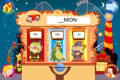 Jeux pour lire avec Sami et Julie (Hachette): putting syllables together to make words (recommended by Delphine) Word Structure, French Friend, Early French, Ipad, French Resources, Learning Apps, France, Applications, Julie