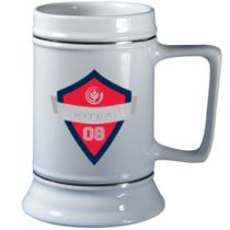 A Biola Football ceramic stein from 2008? Nothing about it makes sense, but that's why it's awesome!