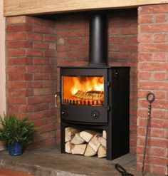 Town & Country Thornton Dale Tall  #KernowFires #woodburner #contemporary #traditional #cornwall #freestanding
