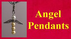Angel pendants tutorial jewellery