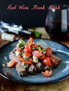Red Wine Flank Steak