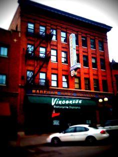 Vincenzo's Restaurant, The Haymarket, Lincoln, Nebraska #nebraska