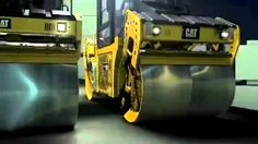 asphalt rollers - YouTube