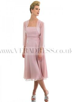 A-Line Sleeveless Square Beaded Zipper Mother Of The Bride Dresses