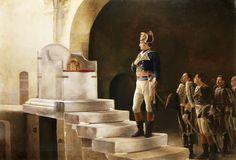 Napoleon am Thron von Charlemagne, Gemälde von Henri-Paul Motte Napoleon Quotes, First French Empire, Napoleon Josephine, Carolingian, Holy Roman Empire, Roman Emperor, French Army, Napoleonic Wars, Kaiser