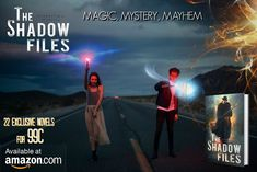 Worlds Away Book Blog: The Shadow Files - free books, giveaways and more