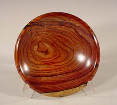 Curly Tzalam Bowl Turned Wooden Bowl Number 3720 by by NELSONWOOD