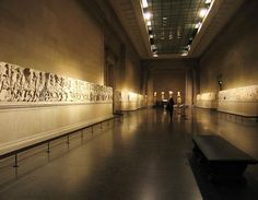 The Parthenon Marbles, also known as the Elgin Marbles, are one of the must-see and most controversial collections held by London's British Museum. Historical Artifacts, Ancient Artifacts, British Museum, Statues, Elgin Marbles, Archaeology News, Museum Displays, Ancient Greece, Art Gallery