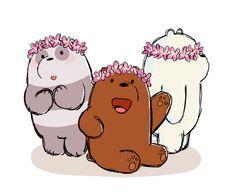 we bare bears Bear Wallpaper, Kawaii Wallpaper, Disney Wallpaper, Mobile Wallpaper, Ice Bear We Bare Bears, We Bear, Cute Animal Drawings, Kawaii Drawings, We Bare Bears Wallpapers