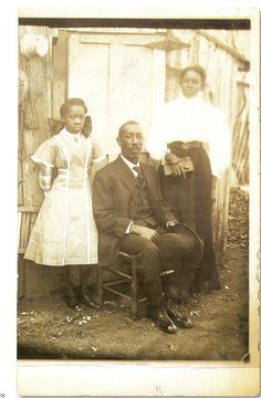 An African American family portrait