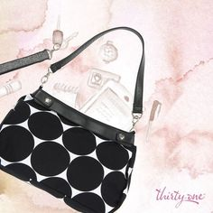 Suite Skirt Purse in BIG DOT. This month ONLY $30. www.mythirtyone.com/296723