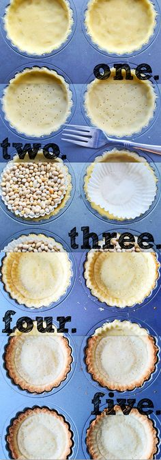 Tart Shell Dough – Pâte Sucrée Worked great for my mince pies :) Tart Shells, Mince Pies, Sweet Tarts, High Tea, Pop Tarts, Love Food, Cooking Recipes, Cooking Tips, Delicious Desserts