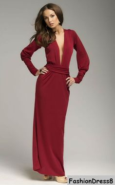 Sexy long gown with sweetheart neckline neck.Maxi dress perfect fitted your body.Dress for the special day.Long sleeve with cuff and draped waist.  Please measure yourself  *clothing is make for order.You may pick a size from the standard sizes below.  -Your bust- around the fullest part -Your natural waist - around the narrowest part you can find (natural waist) -Your hips, around the fullest part- make sure to move the measuring tape up and down until you get the widest area of your hips…