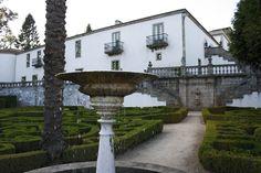 La Coruña Pazo de Mariñán, jardín principal