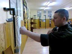 Wing Chun Iron Fist training SiFu Koviljac GYM - YouTube