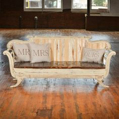 Find the perfect piece for your wedding or event, from vintage furniture to modern seating areas. Discover your event furniture rental options here! Couch Makeover, Furniture Makeover, Home Furniture, Furniture Design, Recycled Furniture, Vintage Furniture, Wooden Couch, Wooden Armchair, Victorian Sofa