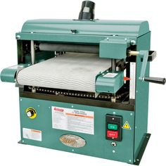 Grizzly Drum Sander.... I'd like to get something like this for my future workshop.