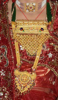 Rajasthani Bishnoi Jewellery Aad Tevta Hameel Laac